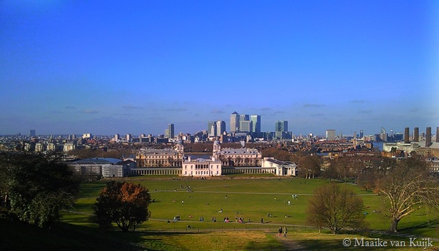 London views Greenwich